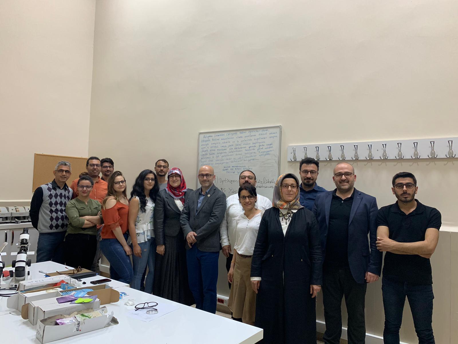 30.04.2019 Adıyaman Üniversitesi Söyleşi Programımız
