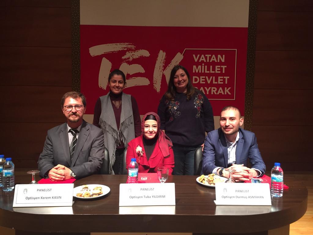 03.12.2018 Amasya Üniversitesi Optisyenlik Semineri