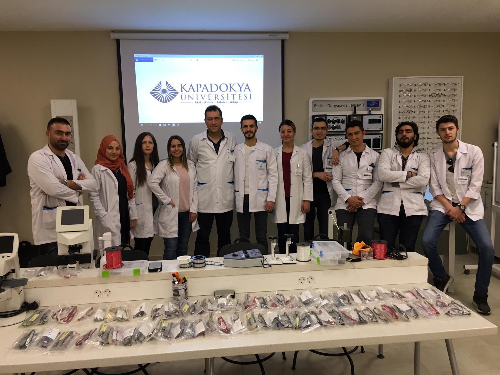 05.03.2019 Kapadokya Üniversitesi Afrika Projemize Ortak Oldu