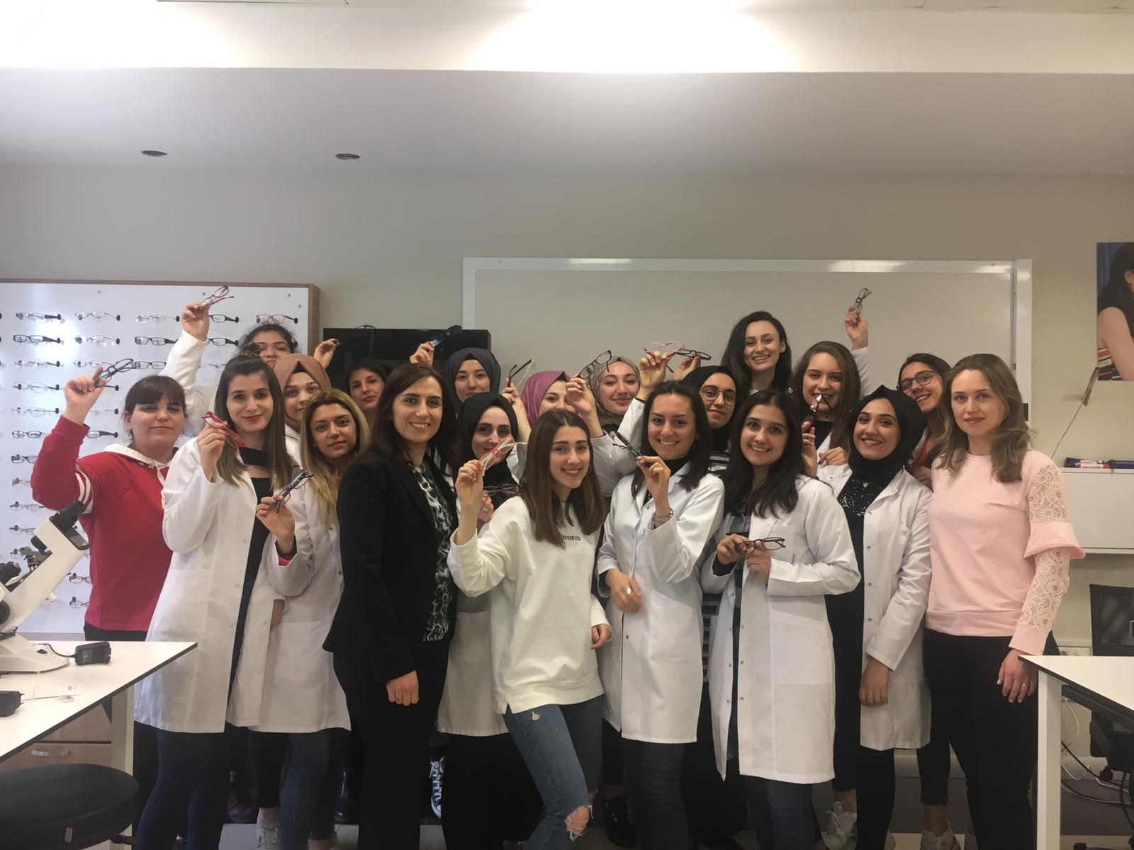 10.04.2019 Medipol Üniversitesi II.Sınıflar Projemize Ortak Oldu