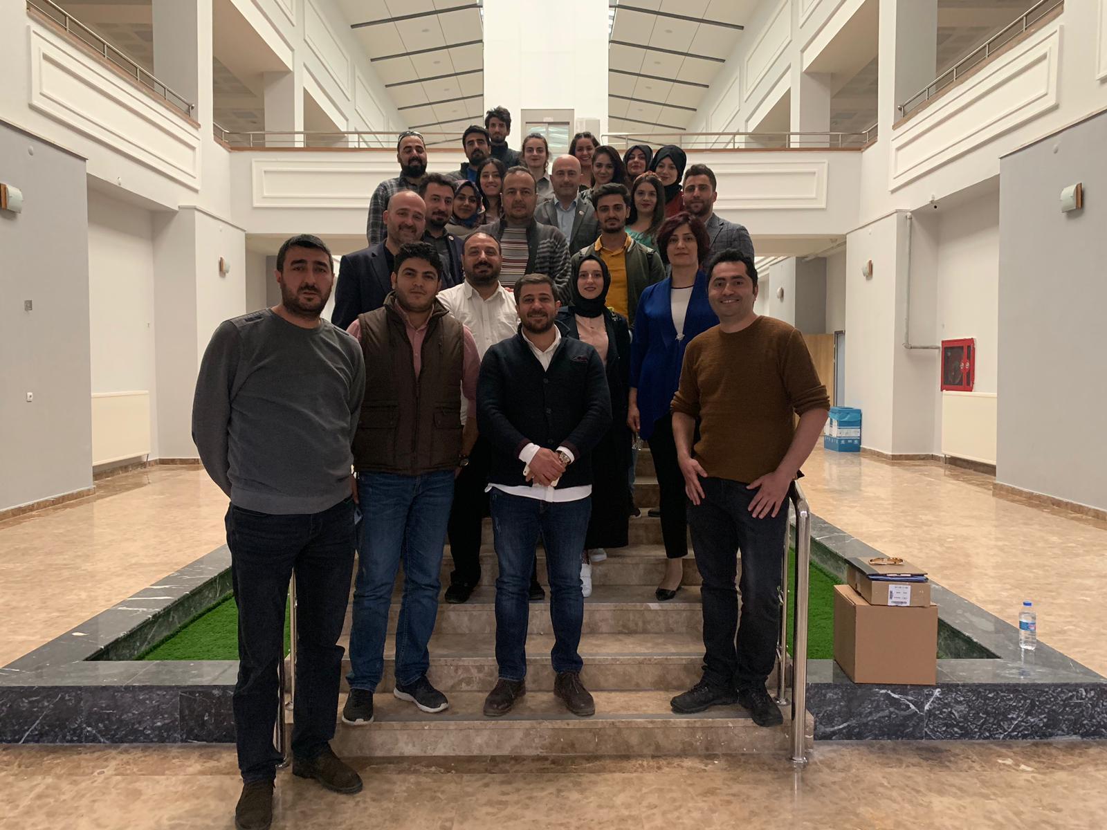 29.04.2019 Alparslan Üniversitesi Söyleşi Programımız