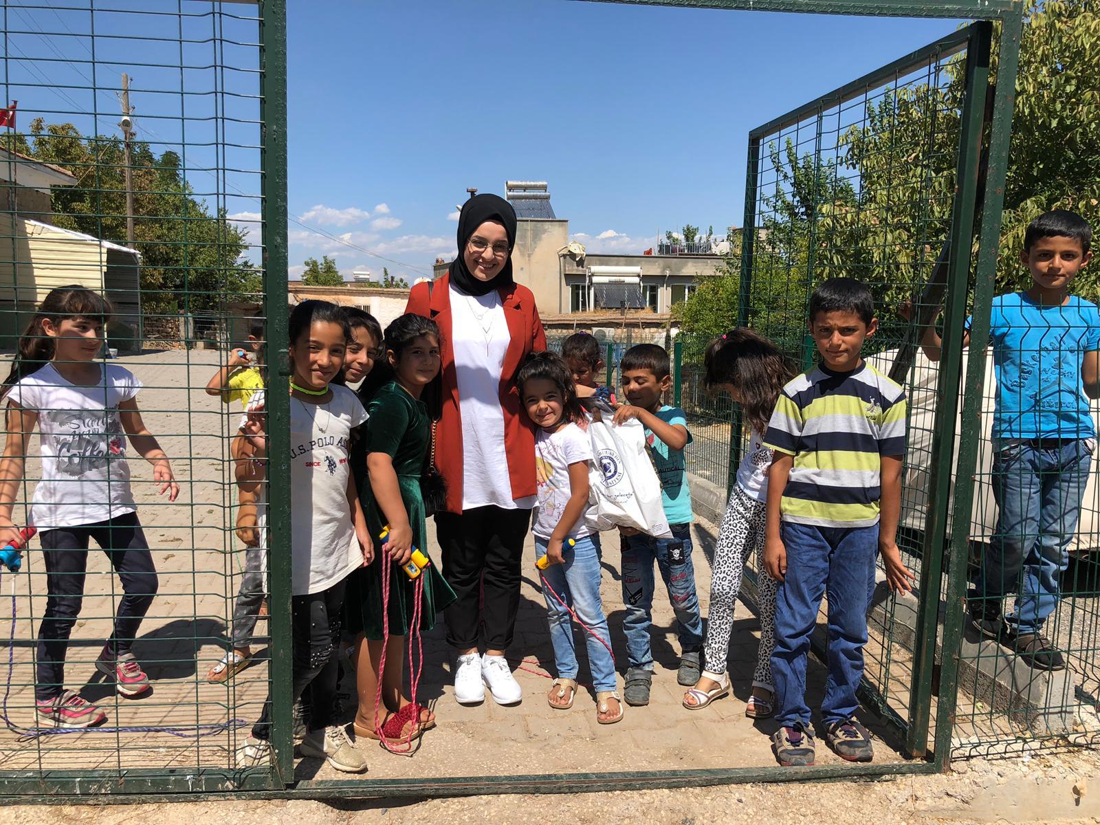 11.09.2019 Köy Okuluna Yardım Projemizi Gerçekleştirdik
