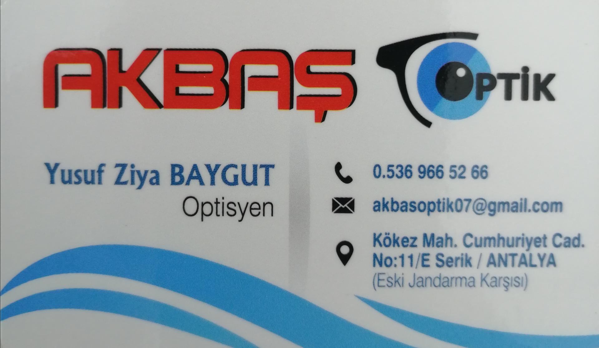 Akbaş Optik