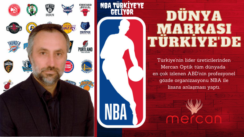 Mercan Optik NBA İle Lisans Anlaşması Yaptı…