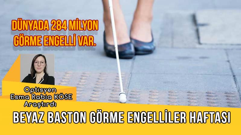 Dünya'da 284 Milyon Görme Engelli Var