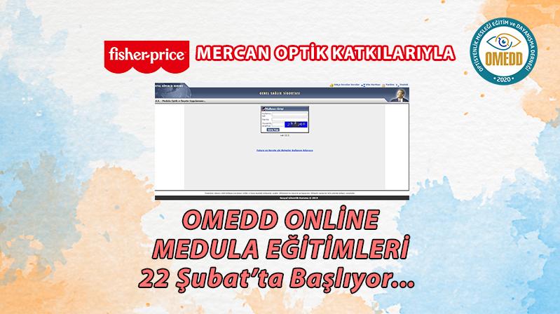 OMEDD Online Medula Eğitimleri