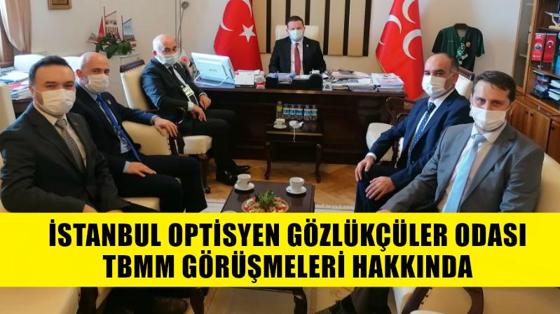 İstanbul OGO TBMM'de Görüşmelerine Devam Ediyor