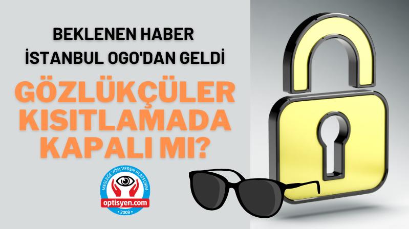 BEKLENEN HABER İSTANBUL OGO'DAN GELDİ